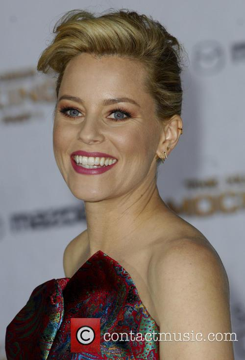 Elizabeth Banks at the Premiere of The Hunger Games Mockingjay Part One in Los Angeles, California, United States on Tuesday 18th November 2014
