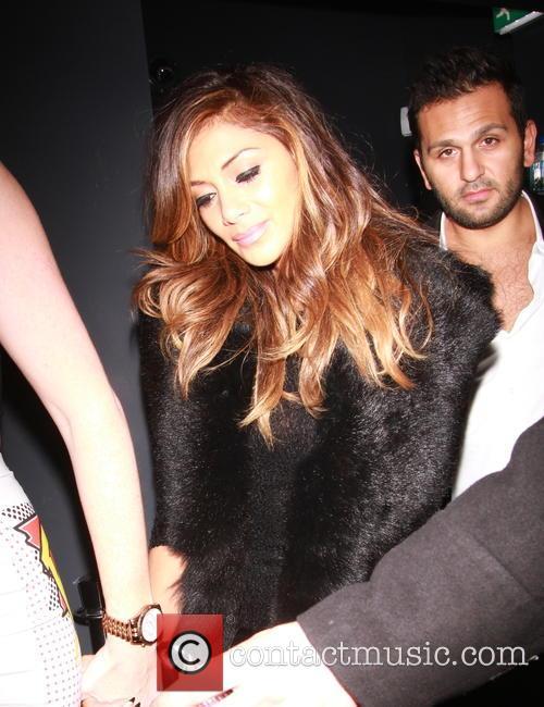 Celebrities at Chakana nightclub