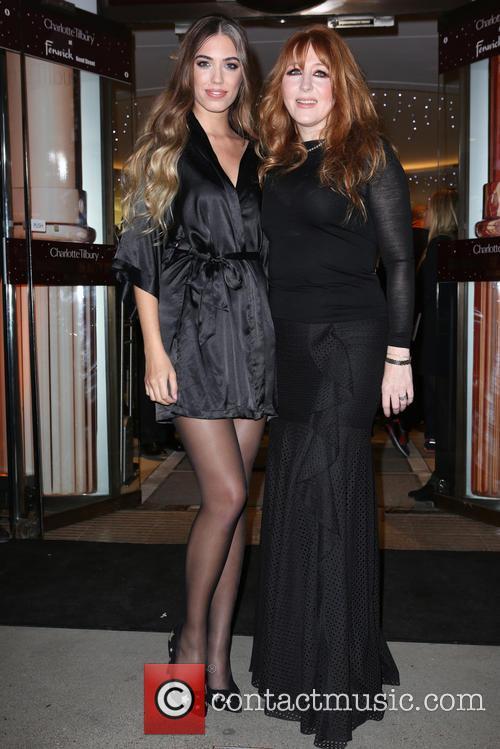 Amber Le Bon and Charlotte Tilbury 9