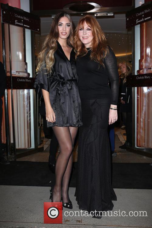 Amber Le Bon and Charlotte Tilbury 11
