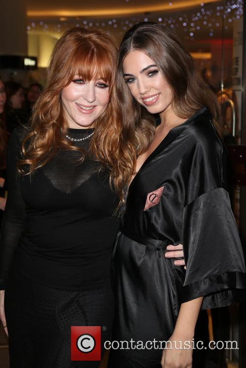 Charlotte Tilbury and Amber Le Bon 2