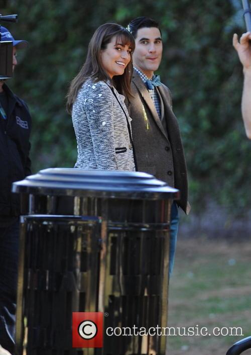 Lea Michele and Darren Criss 7