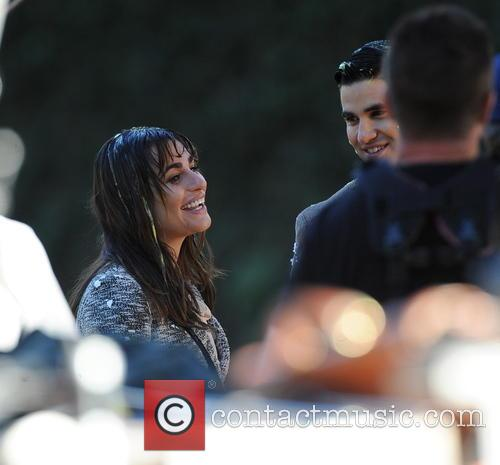 Lea Michele and Darren Criss 9