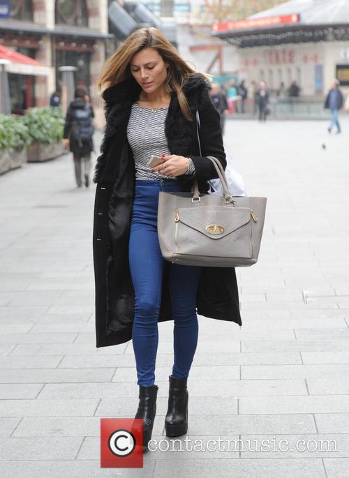 Zoe Hardman seen out in London