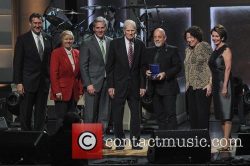 James H. Billington, Billy Joel, Sonya Sotomayor, Greg Mccarthy, Nancy Pelosi, Candice Miller and Gregg Harper 1