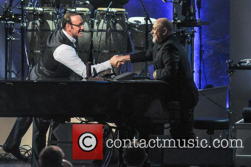 Kevin Spacey and Billy Joel 5