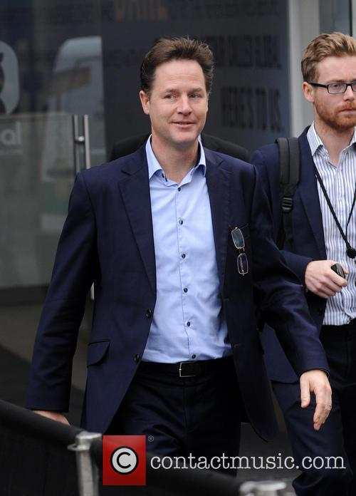 Nick Clegg at Global House