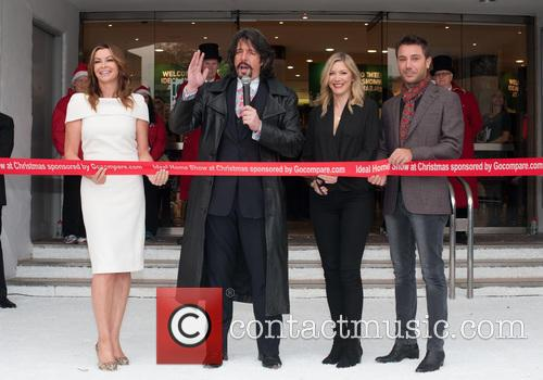 Laurence Llewelyn-bowen, Lisa Faulkner, Gino D'acampo and Suzi Perry 2