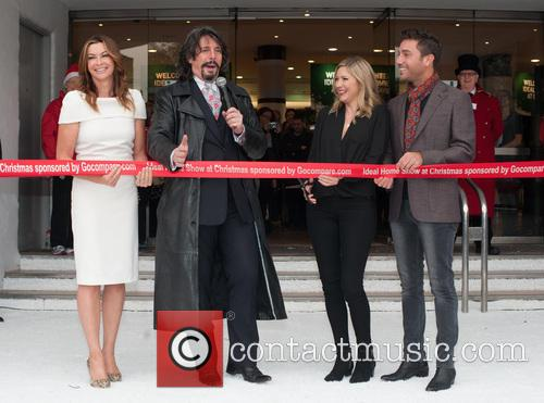 Laurence Llewelyn-bowen, Lisa Faulkner, Gino D'acampo and Suzi Perry 1