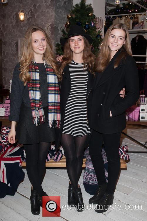 Clea, Aimee Foy and Rosie Tapner 2