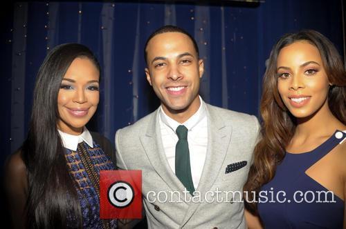 Marvin Humes, Rochelle Humes and Sarah Jane Crawford 8