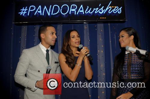 Marvin Humes, Rochelle Humes and Sarah Jane Crawford 10