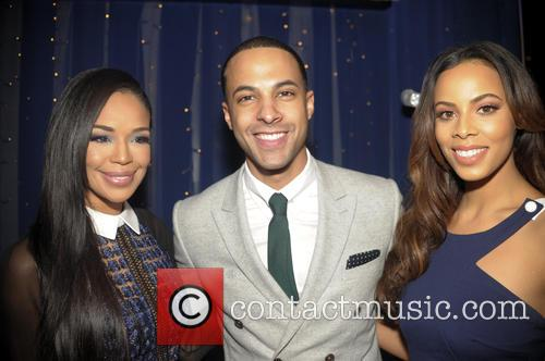 Sarah Jane Crawford, Marvin Humes and Rochelle Humes 2