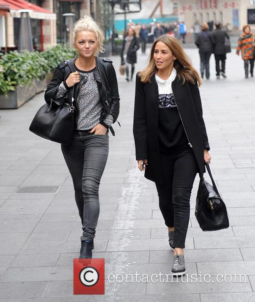 Hannah Spearritt and Rachel Stevens