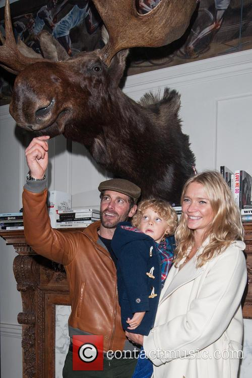 Jodie Kidd, David Blakeley and Indio Vianini Kidd 4