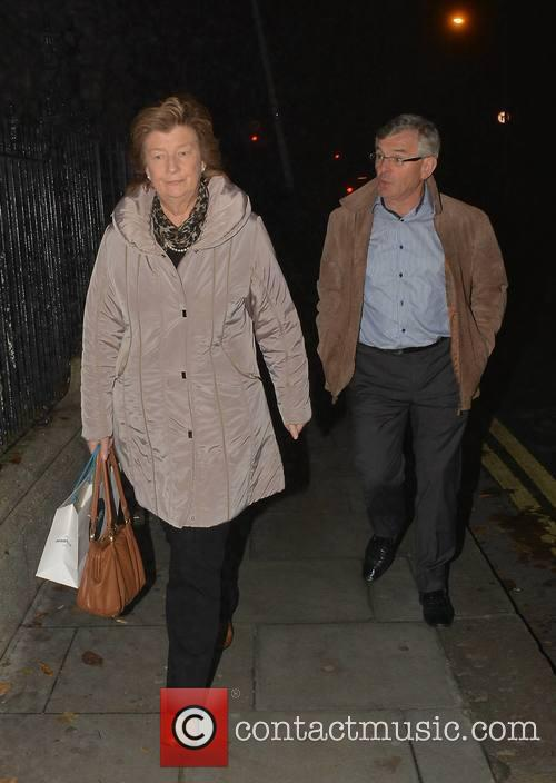 Brian O'Driscoll's parents at Holles Street