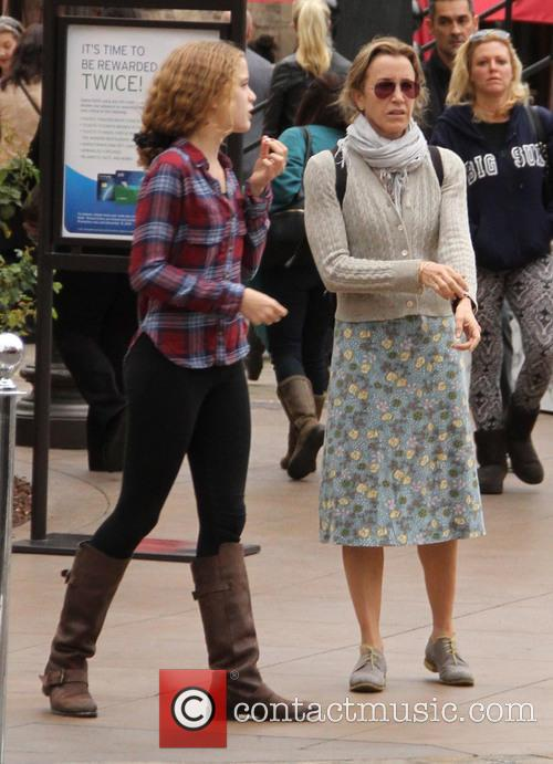 Felicity Huffman shopping at The Grove in Hollywood