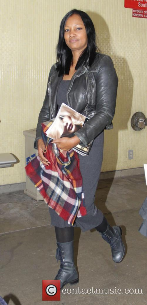Garcelle Beauvais arrives at Los Angeles International Airport