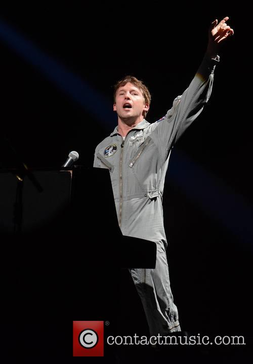 James Blunt plays at the 3Arena