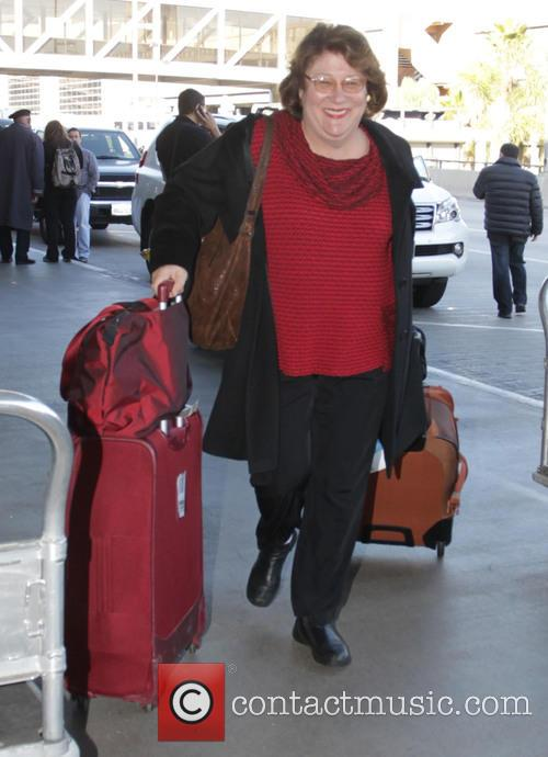 Margo Martindale departs Los Angeles International Airport