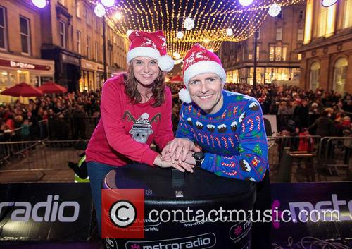 Metro Radio, Steve Furnell and Karen Wight 1