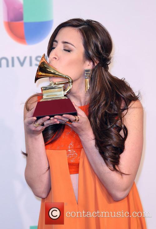 Latin Grammy Awards and Mariana Vega 7