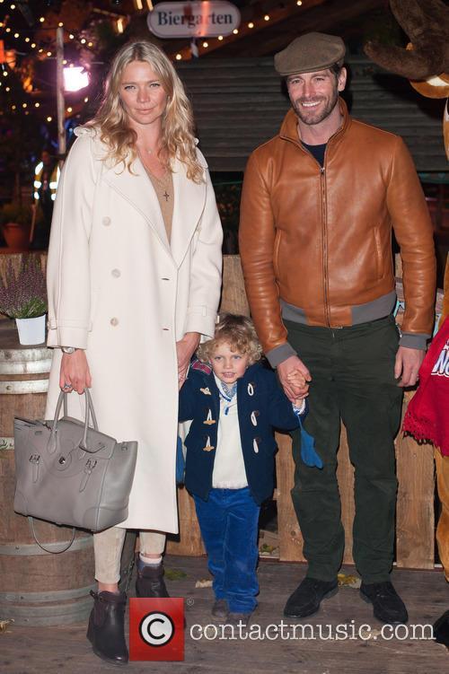 Jodie Kidd, David Blakeley and Indio Viannini Kidd 7