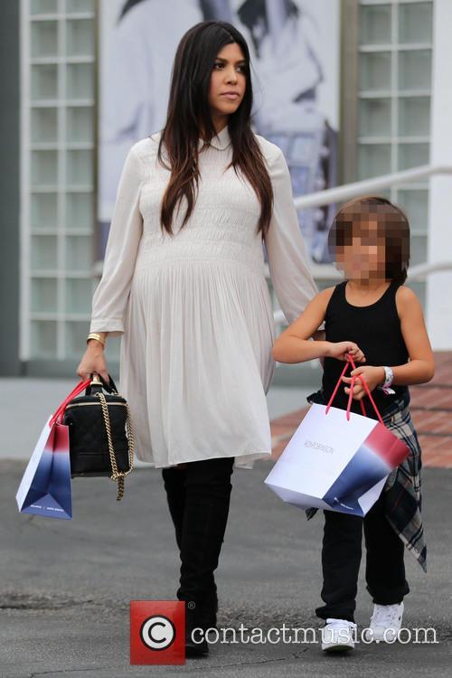Kourtney Kardashian and Mason Disick 5