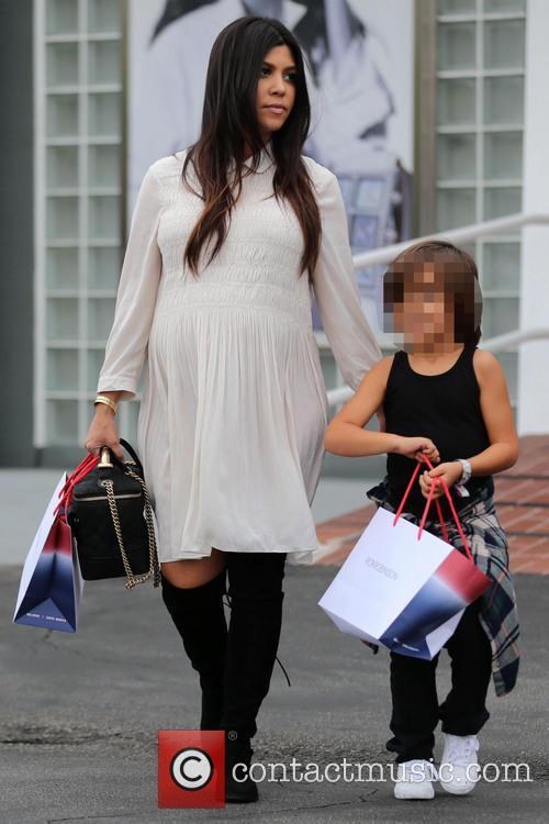 Kourtney Kardashian and Mason Disick 6