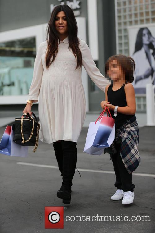 Kourtney Kardashian and Mason Disick 9