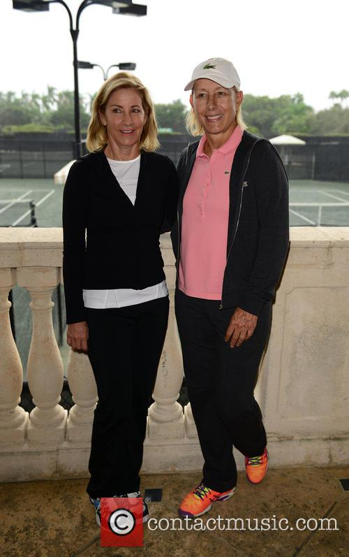 Chris Evert and Martina Navratilova 5