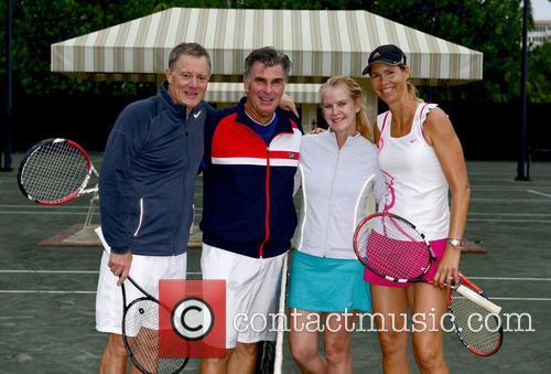 Chris Evert, Guest, Maeve Anne Quinlan, Brenda Schultz Mccarthy and Tennis 8