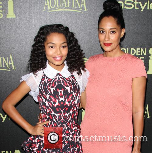 Yara Shahidi and Tracee Ellis Ross 1