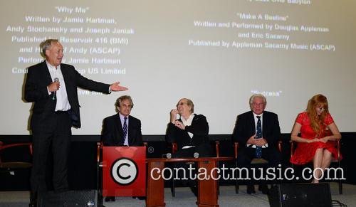 Gregory J. Shepherd, John Herzfeld, Danny Aiello, Tom Berenger and Rebekah Chaney 2