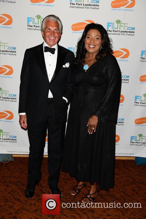 George Hamilton and Barbara Sharief 10