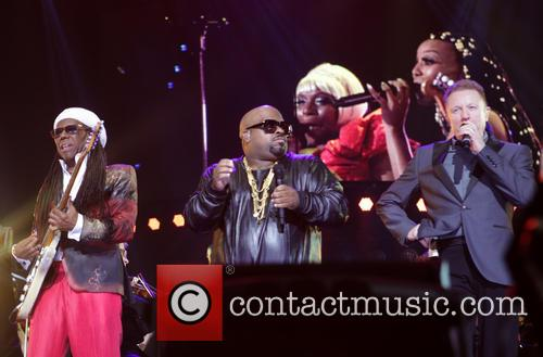 Nile Rogers, Ceelo Green and John Miles 2