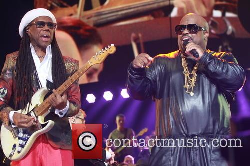 Nile Rogers and Ceelo Green 3