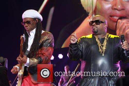 Nile Rogers and Ceelo Green 1