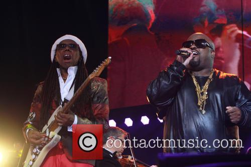 Nile Rogers and Ceelo Green 4