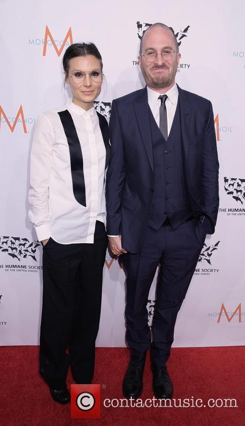Brandi Milbradt and Darren Aronofsky 10