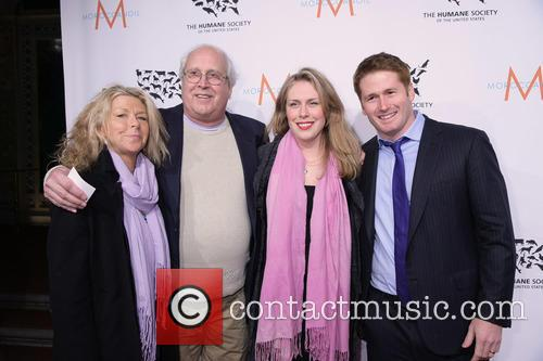 Jaynie Luke Chase, Chevy Chase, Cydney Chase Bartell and Ryan Bartell