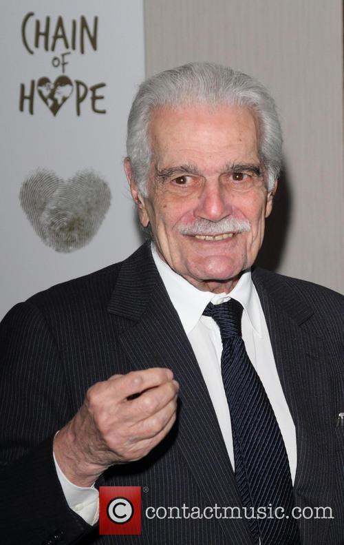 Omar Sharif at Chain of Hope's 2014 Gala Ball