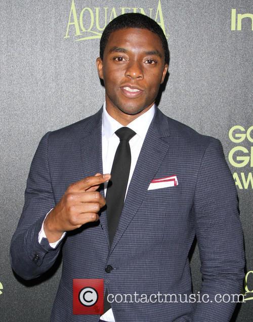 Chadwick Boseman at Fig & Olive Melrose Place Golden Globe Los Angeles California United States, Friday 21st November 2014