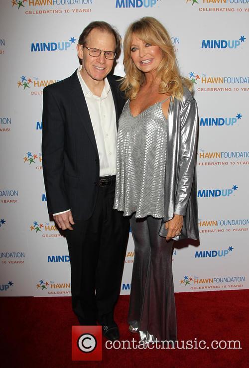 Daniel J. Siegel and Goldie Hawn 1