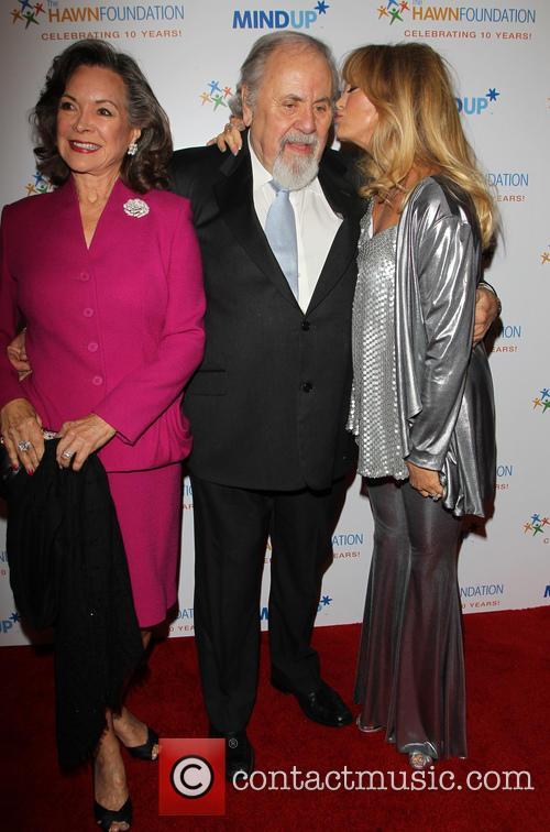 Jolene Brand, George Schlatter and Goldie Hawn