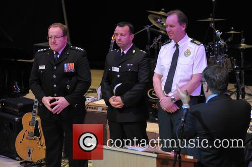 Justice, Dave Bromley (fire Station Commander), Kenny Bell (d/chief Suprintendent Head Of Force Cid) and Mark Gough (assistant Chief Ambulance) 5