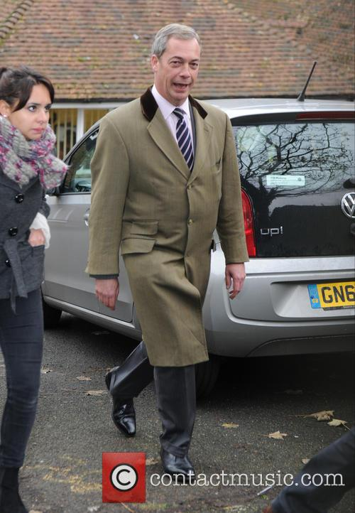 Nigel Farage out in Rochester
