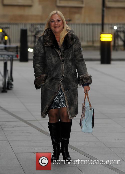 Vanessa Feltz sighting at the BBC