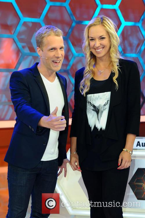 Berlin, Oliver Pocher and Sabine Lisicki 1