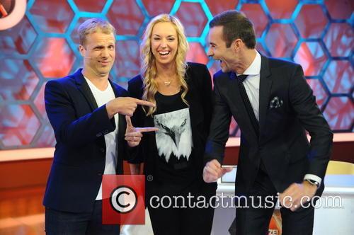 Oliver Pocher, Sabine Lisicki and Kai Pflaume 3